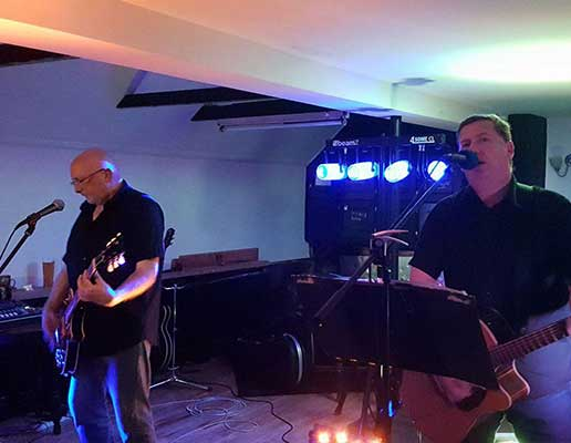 Jagged Hands live at the Haresfield Beacon